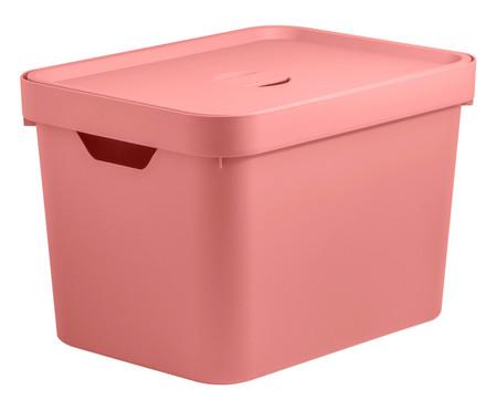 Caixa Organizadora Helena - Rosa 18L | WestwingNow