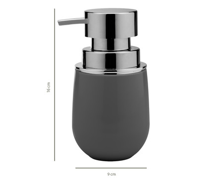 Dispenser para Sabonete Líquido Dakota Cinza - 400ml | WestwingNow