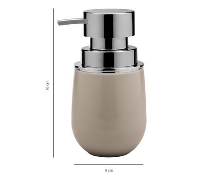 Dispenser para Sabonete Líquido Dakota Bege - 400ml | WestwingNow