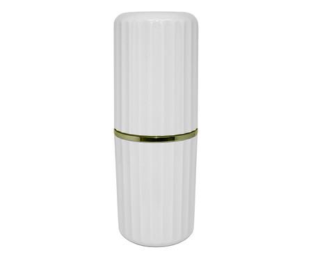 Porta-Escova Ligia Branco - 7,9cm | WestwingNow