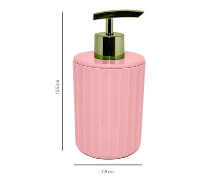 Dispenser para Sabonete Líquido Ligia Rosa  - 350ml | WestwingNow