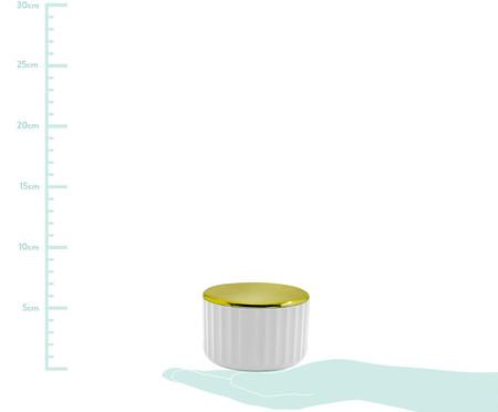 Porta-Algodão Ligia Branco - 6,4cm | WestwingNow
