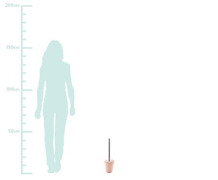 Escova Sanitária Aguiar Rosa - 12cm | WestwingNow