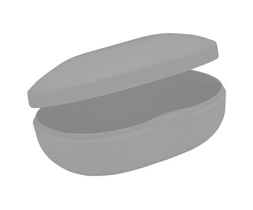 Saboneteira Soft Cinza - 10,5X5X8cm, Cinza | WestwingNow