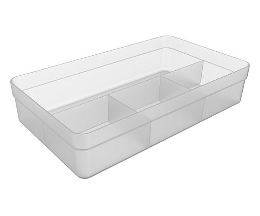 Caixa Organizadora  Zila Transparente - 34,6X7,5X20cm, Transparente   WestwingNow