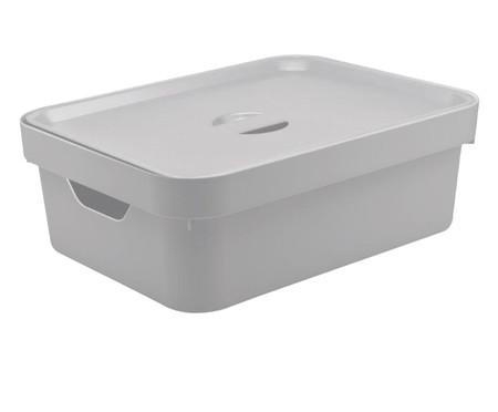 Caixa Organizadora Helena - Branco 10,5L | WestwingNow