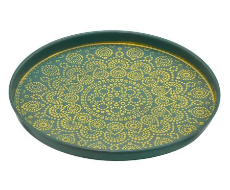 Prato Decorativo Sharon - Verde e Dourado | WestwingNow