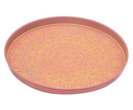 Prato Decorativo Sharon - Rosa e Dourado | WestwingNow