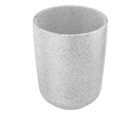Porta-Escova em Cerâmica Osaka Branco - 8X9,8cm | WestwingNow