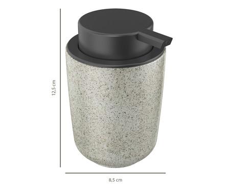 Dispenser para Sabonete Líquido em Cerâmica Osaka Cinza - 200ml | WestwingNow