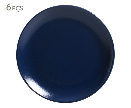 Prato Raso Coup Stoneware Azure - 06 Pessoas | WestwingNow