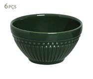 Jogo de Bowls em Cerâmica Roma Botânico - Verde | WestwingNow