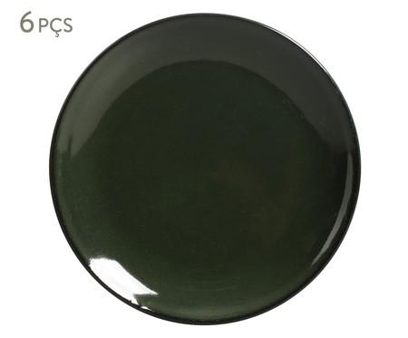 Prato Raso Coup Stoneware Naturale - 06 Pessoas | WestwingNow