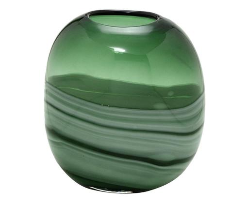 Vaso Libbie - Verde e Branco, Verde | WestwingNow
