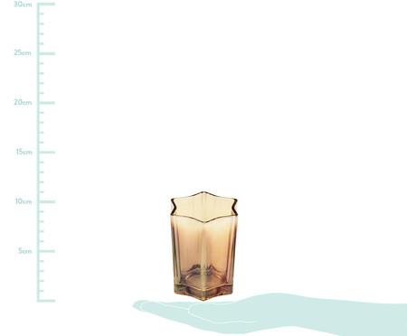 Vaso de Vidro Daniela -  Âmbar | WestwingNow