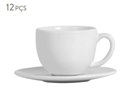 Jogo de Xícaras para Chá  Coup Branco - 06 Pessoas | WestwingNow