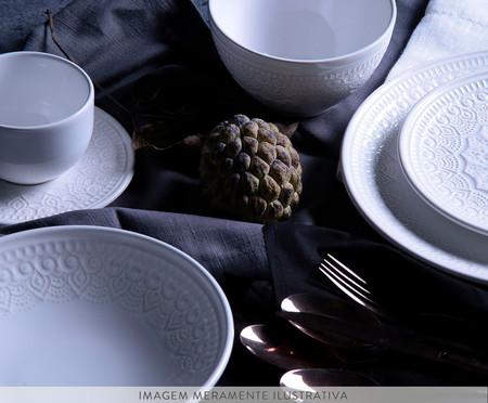 Jogo de Pratos para Sobremesa Agra - Branco | WestwingNow