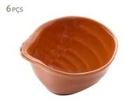 Jogo de Bowls em Cerâmica Ocean Canela 06 Pessoas - Laranja | WestwingNow