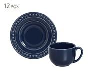 Jogo de Xícaras para Chá  Atenas Deep Blue - 06 Pessoas | WestwingNow
