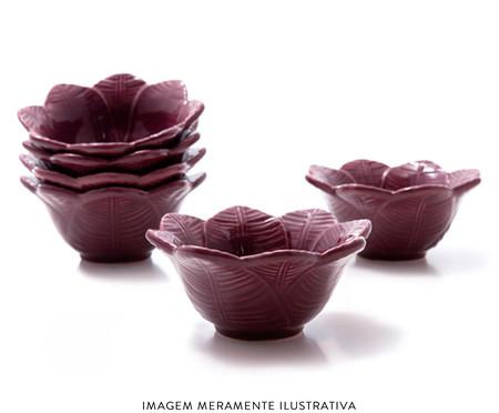 Jogo de Bowls Leaves Sumac - 06 Pessoas | WestwingNow