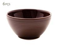 Jogo de Bowls em Cerâmica Argos Pimenta do Reino - Marrom | WestwingNow
