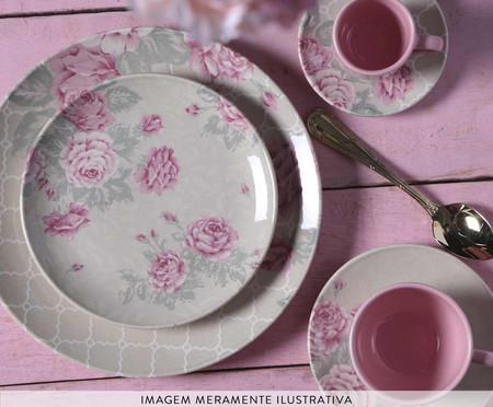 Jogo de Xícaras para Chá  Coup Rosé Garden - 06 Pessoas | WestwingNow