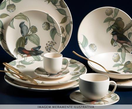 Jogo de Xícaras para Chá em Cerâmica Coup La Vie - Off White   WestwingNow