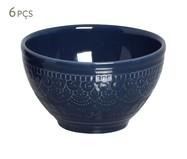 Jogo de Bowls Agra Deep Blue - 06 Pessoas | WestwingNow