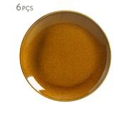 Jogo de Pratos para Sobremesa em Cerâmica Coup Stoneware 06 Pessoas - Ambar | WestwingNow