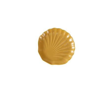 Jogo de Pratos para Sobremesa em Cerâmica Ocean Curry-Panelinha 06 Pessoas - Amarelo | WestwingNow