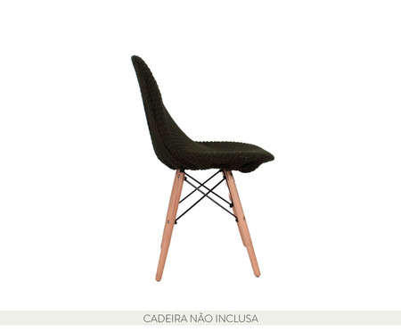 Capa para Cadeira Eames em Tricot Eiffel Charles - Verde | WestwingNow