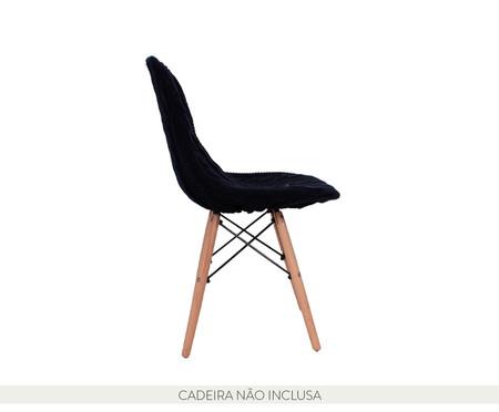 Capa para Cadeira Eames em Tricot Trançada Eiffel Charles - Azul | WestwingNow