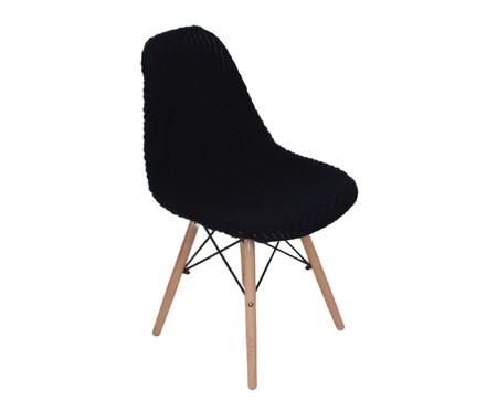 Capa para Cadeira Eames em Tricot Eiffel Charles - Azul | WestwingNow