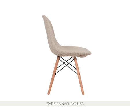 Capa para Cadeira Eames em Tricot Eiffel Charles - Bege | WestwingNow