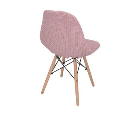 Capa para Cadeira Eames em Tricot Eiffel Charles - Rosa | WestwingNow