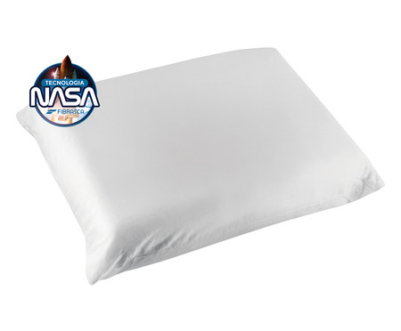 Travesseiro Fibrasca Super Nasa Íons de Prata - Branco | WestwingNow