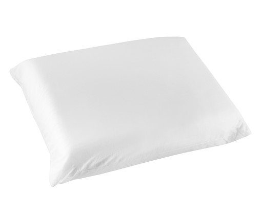 Travesseiro Fibrasca Super Nasa Íons de Prata - Branco, Branco | WestwingNow