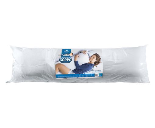 Travesseiro de Corpo Salim - Branco, Branco | WestwingNow