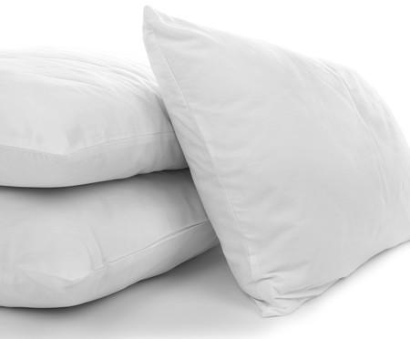 Travesseiro Elax Lavável Fibras Siliconadas - Branco | WestwingNow