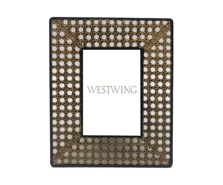 Porta-Retrato de Trelica - Bege | WestwingNow