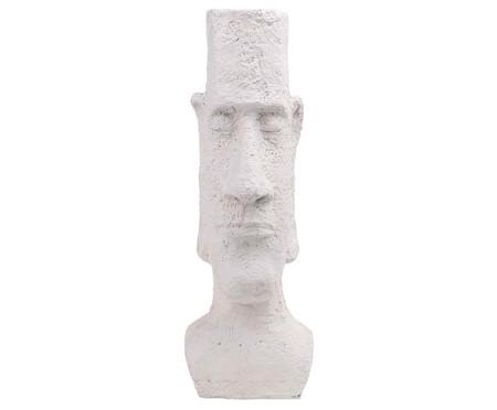 Escultura em Resina Rosto ll - Branca | WestwingNow