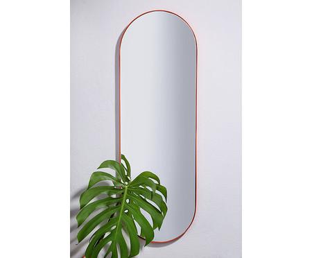 Espelho de Parede Laranja - 36x107cm   WestwingNow