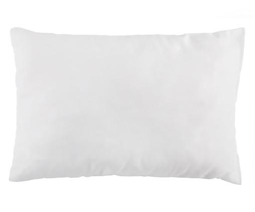 Travesseiro Ray Fibras Siliconadas, Branco | WestwingNow