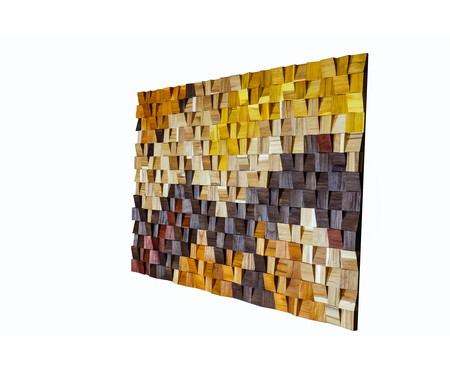 Quadro de Madeira 3D - Stella | WestwingNow