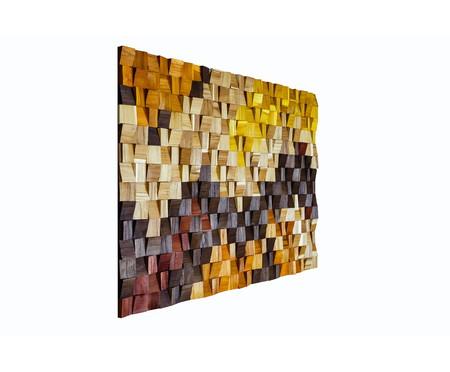 Quadro de Madeira 3D Stella Colorido - 115x70cm   WestwingNow