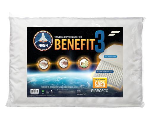 Travesseiro Nasa Benefit - Branco, Branco | WestwingNow