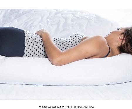 Travesseiro de Corpo Multiuso Bibo - Branco | WestwingNow