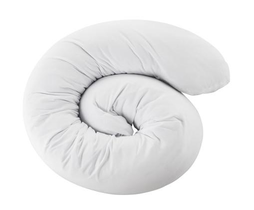 Travesseiro de Corpo Multiuso Bibo - Branco, Branco, Marrom | WestwingNow