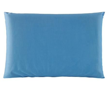 Travesseiro de Látex Lavável Frostygel - Azul | WestwingNow
