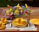 Jogo de Pratos Fundos em Cerâmica Roma 06 Pessoas - Mostarda, Amarelo | WestwingNow